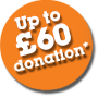 Up to £60 donation to Keep Wiltshire Frack Free