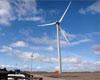 Shipdam wind turbines supplying green energy