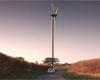 A view of our Swaffham 2 wind park at sunset