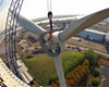 The blades are lifted on our Dagenham turbine