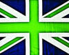 The Ecotricity Green Union Jack Flag