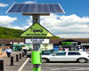 An Ecotricity chargepoint at a Welcome Break service station
