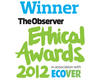 Ecotricity scoops Observer Ethical Award