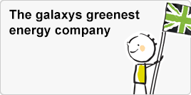 The galaxys greenest energy company