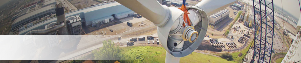 Turbine Install Close-up Banner
