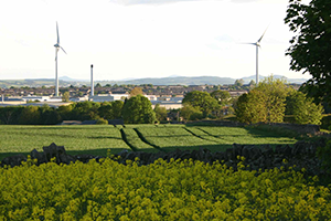 The turbines at the Michelin plant, Dundee