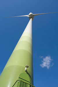 A turbine at Fen Farm