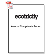 Download our 2012 complaints report