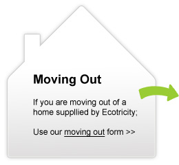 Moving Out. If you are moving out of a home supplied by Ecotricity; Use our moving out form