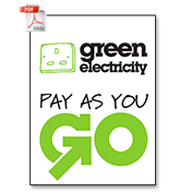 Green Electricity - Pay As You Go (PDF, 818 kB)