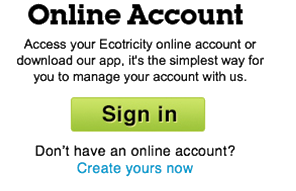Access your Ecotricity online account or download our app, it's the simplest way for you to manage your account with us
