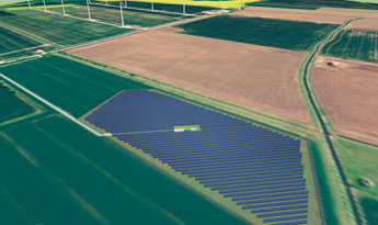 Artist's impression of our Fen Farm sun park