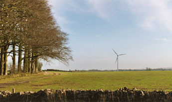 Our Shooters Bottom turbine in the landscape
